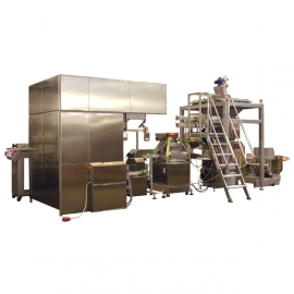2-way large bread-making line